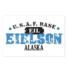 Eielson Air Force Base Postcards (Package of 8)