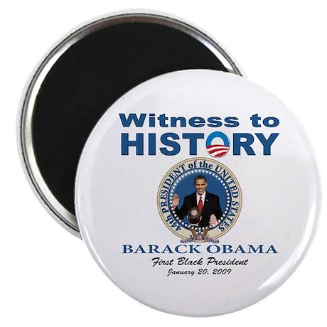 President Obama first black president Magnet