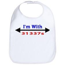 I'm With 31337s Bib