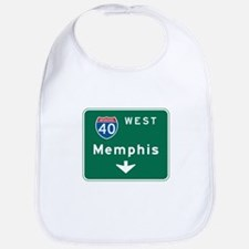 Memphis, TN Highway Sign Bib