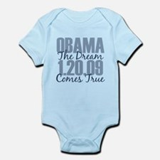 Obama The Dream Comes True Infant Bodysuit