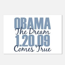 Obama The Dream Comes True Postcards (Package of 8
