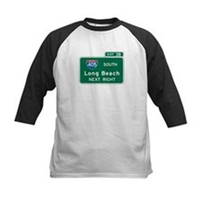 Long Beach, CA Highway Sign Tee