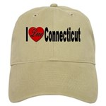 I Love Connecticut Cap
