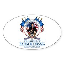 Inauguration day Oval Decal