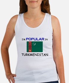 I'm Popular In TURKMENISTAN Women's Tank Top