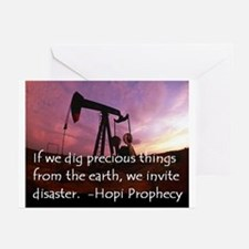 Hopi Prophecy - ANWR Greeting Cards (Pk of 10)