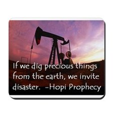 Hopi Prophecy - ANWR Mousepad