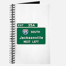 Jacksonville, FL Highway Sign Journal