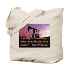 Hopi Prophecy - ANWR Tote Bag