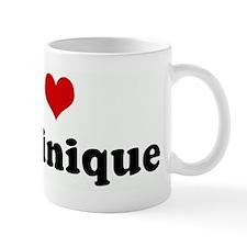 I Love Dominique Mug