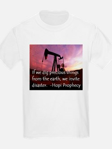 Hopi Prophecy - ANWR Kids T-Shirt