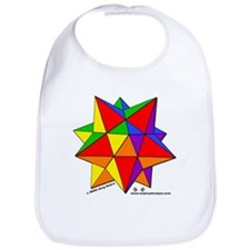 Dodecahedron - Baby Bib