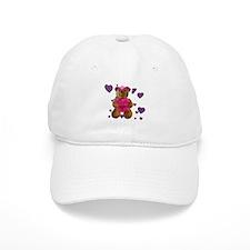 Fhelzgud Valentine Bear Baseball Cap