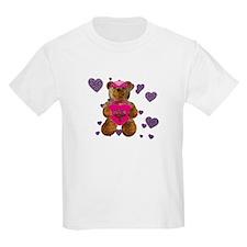 Fhelzgud Valentine Bear T-Shirt