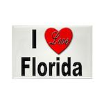 I Love Florida Rectangle Magnet (10 pack)