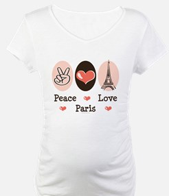 Peace Love Paris Shirt