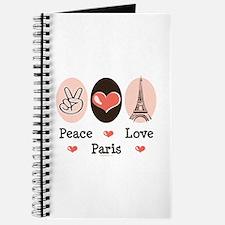 Peace Love Paris Journal