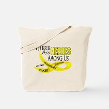 Heroes Among Us SARCOMA Tote Bag
