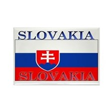 Slovakia Slovak Flag Rectangle Magnet
