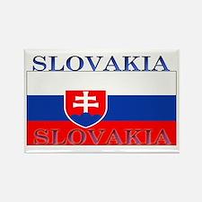 Slovakia Slovak Flag Rectangle Magnet