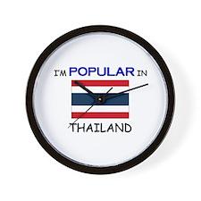 I'm Popular In THAILAND Wall Clock