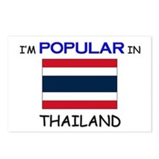 I'm Popular In THAILAND Postcards (Package of 8)