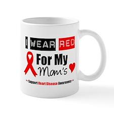 I Wear Red Mom Mug