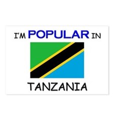 I'm Popular In TANZANIA Postcards (Package of 8)