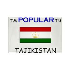 I'm Popular In TAJIKISTAN Rectangle Magnet