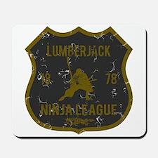 Lumberjack Ninja League Mousepad