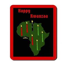 Kwanzaa Mousepad