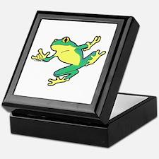 ASL Frog in Flight Keepsake Box