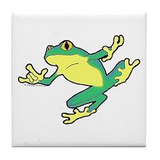 ASL Frog in Flight Tile Coaster