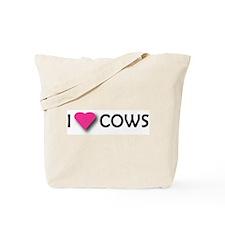 I LUV COWS! Tote Bag