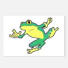 ASL Frog in Flight Postcards (Package of 8)
