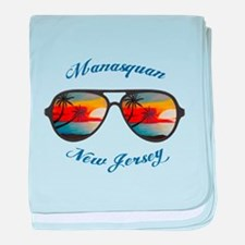 New Jersey - Manasquan baby blanket