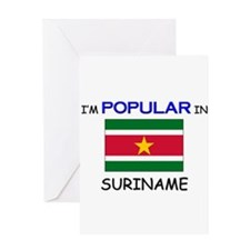 I'm Popular In SURINAME Greeting Card