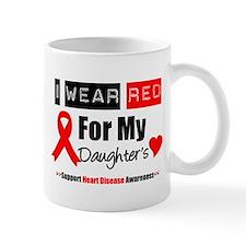 I Wear Red Daughter Mug