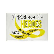 I Believe BLADDER CANCER Rectangle Magnet