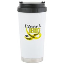 I Believe BLADDER CANCER Travel Mug