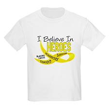 I Believe BLADDER CANCER T-Shirt