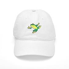 ASL Frog in Flight Baseball Cap