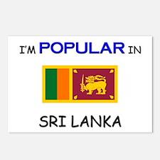 I'm Popular In SRI LANKA Postcards (Package of 8)