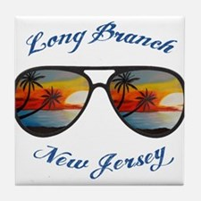 New Jersey - Long Branch Tile Coaster