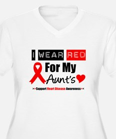 I Wear Red Aunt T-Shirt