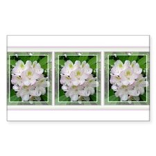 Rhododendron Rectangle Decal