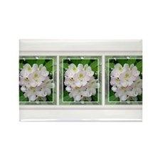 Rhododendron Rectangle Magnet