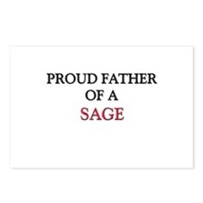 Proud Father Of A SAGE Postcards (Package of 8)