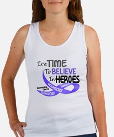 Time To Believe PROSTATE CANCER Women's Tank Top